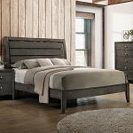 Serenity Grey Panel Bed Frame