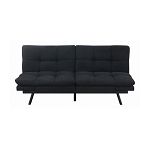 Ralph Tufted Upholstered Sofa Bed Black