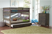 Full over Full Bunk Wooden Bunk Bed