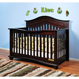 Classic Missionary Style 3-in-1 Convertible Crib