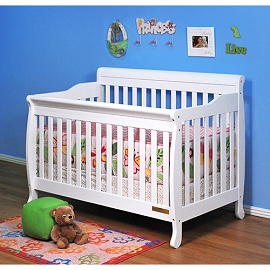 Alice Solid Wood Convertible 3-in-1 Crib
