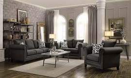 Emerson Contemporary Sofa- love seat and chair optional to add