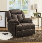 Power Lift Recliner With Wired Remote Chocolate