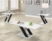 3 Pcs Occasional Coffee Table set
