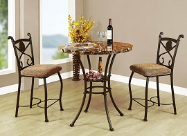 3 Piece Counter Height Dinning Set
