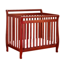 Solid Hard wood Convertible Mini Crib