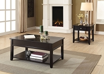ACME Malachi Coffee Table w/Lift Top - 82950 - Black