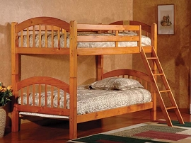 Finish Twin/Twin Bunk Bed-color option