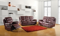 Burgundy Sofa with love seat and chair options