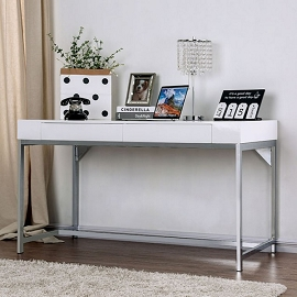 Loke White Gloss Desk