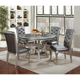 Amina Round Dining Table Set