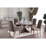 Bridgen Genuine Round  Marble Table set