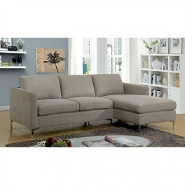 Contemporary Sandy Collection Sofa set
