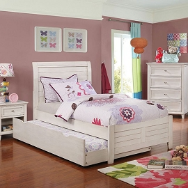 Brogan Youth Bed Frame with trundle option