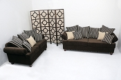 2 Pcs Sisqo Sofa Collection set- Custom Colors