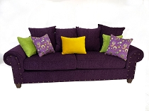 The Purple Joker Sofa