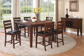 7 Piece Counter Height Dining Room Set
