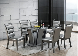 7 Pcs Formal Dining Table Set