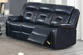 Ink Blue Sofa Recliner