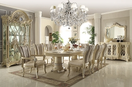 HD-5800 DINING TABLE Homey Design Victorian, European & Classic Design