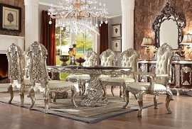 HD-8017 DINING TABLE Homey Design Victorian, European & Classic Design