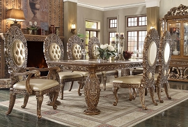HD-8018 DINING TABLE Homey Design Victorian, European & Classic Design