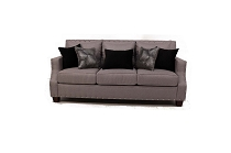 Grey Linen Sofa-  queen sofa bed updgarde