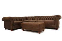 Manhattan Tufted  Sectional-E Z Customs