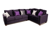 EZ Purple Sectional