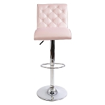 ELIZABETH CRYSTAL TUFTED VANITY STOOL (OUT OF STOCK)