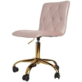 EVELYN DIAMOND TUFTED VANITY CHAIR / Out of Stock