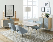 Pennington Contemporary Table and Chair Set