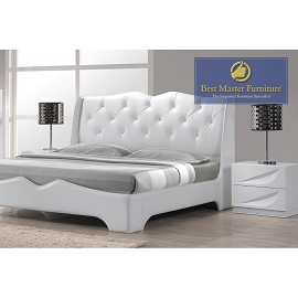 Madrid White Bed Frame