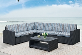7 Pcs Conversations sectional set