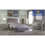 T1910 Mirrored Bedroom Set