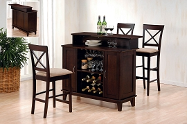 Cappuccino Finish Traditional Bar Unit