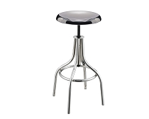 Metal Chrome Finish Adjustable Bar stool