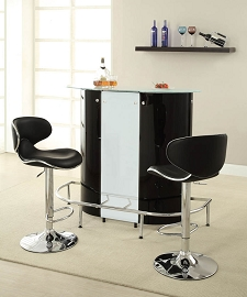 Black Contemporary Bar Unit