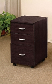 Espresso Finish File Cabinet