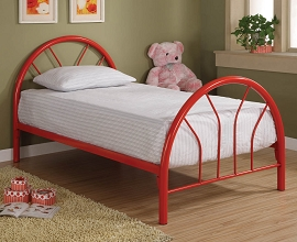Metal Twin Bed Frame with color option