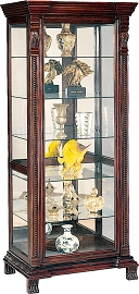 Traditionally Styled Curio Cabinet