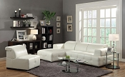 Darby Contemporary Sectional Sofa with Wide Arms