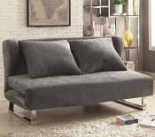 Sofa Beds and Futons Transitional Velvet Sofa Bed