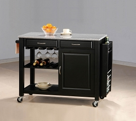 Kitchen Cart (Black)