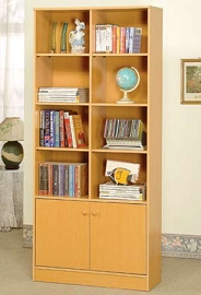Natural Finish Book Shelf