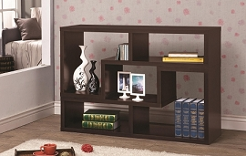 Horizontal or Vertical Convertible TV Stand/Book Shelf