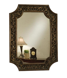 Bronze Finish Traditional Mirror