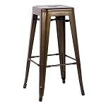 Bronze Bar Stools (Set of 2)