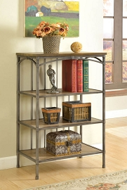 4-Tier Metal Book Case