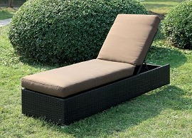 Albee Brown Patio Chaise